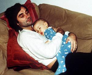 George Best with son Calum