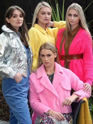 Mandatory Credit - Picture by Freddie Parkinson © Thursday 31 January 2019 Launch of Fashion Week 2019 at Panama Cafe 3 McClintock Street Belfast. Models Molly Jeffrey, Sophie McGribbon, Aimee Boyle and Philip Boyd