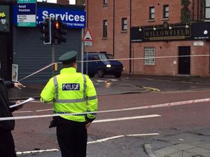 A man, believed to be a prison officer, has been taken to hospital after a device exploded under a van in east Belfast.