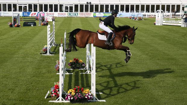 The showjumping competition starts on the first day of the Balmoral Show