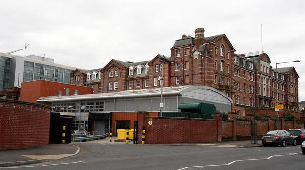 A test is understood to have been carried out at the Royal Victoria Hospital in Belfast (Paul Faith/PA)