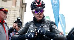 Injuries: Chris Froome suffered horror crash in France