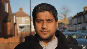 Islamic extremist Abu Rumaysah as he appears in Channel4 documentary The Jihadis Next Door. Channel 4/PA Wire