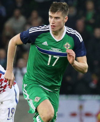 Comeback: Paddy McNair has been recalled to the NI squad. Photo: David Maginnis/Pacemaker