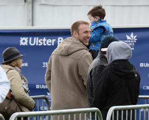 NO FEE Presseye.com15th May 2013 Ulsters Stephen Ferris pictured at the First day of the 2013 Balmoral Show in partnership with Ulster Bank at the new site, Balmoral Park.  Photograph by Stephen Hamilton /Presseye