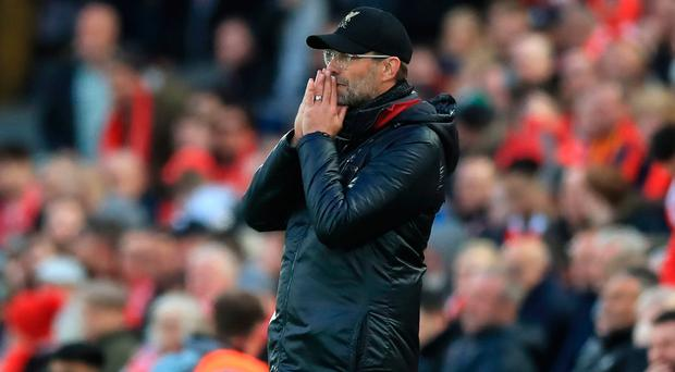 Prayer time: Jurgen Klopp hasn't given up title hope
