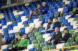 Northern Ireland fans during the Nations League Qualifier against Austria on October 11th 2020 (Photo by Kevin Scott for Belfast Telegraph)