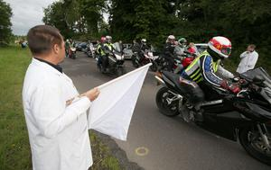 One final lap of  lap of John Hinds' favourite Tandragee 100 circuit in Co Armagh. Matt Mackey/Presseye