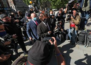 Johnny Depp at the High Court (Yui Mok/PA)
