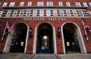 Dolphin Square in Pimlico, London, where Lord Sewel has a flat