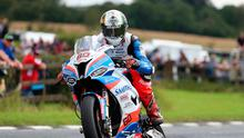 First man: Peter Hickman during Ulster GP qualifying