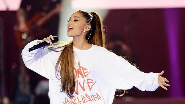 Ariana Grande described the bomb attack as the 'absolute worst of humanity' (Dave Hogan for One Love Manchester/PA)