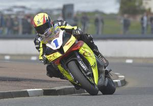 Mandatory Credit: Rowland White/PressEye Motor Cycle Road Racing Event: North West 200 Race: Supersport Tuesday Practice Date: 14th May 2013 Caption: Ian Lougher