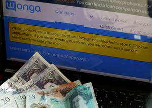 Administrators for Wonga said claimants will get less than 5% of the total owed (Yui Mok/PA)