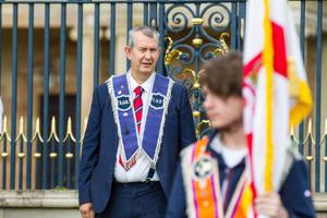 Agriculture Minister Edwin Poots, a member of Lisburn Temperance LOL 152. Pic Graham Baalham-Curry