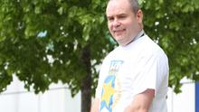 Thomas Rodgers, who for 25 years has been a ceaseless fundraiser for charity. Pic: Colm O'Reilly/Sunday Life.