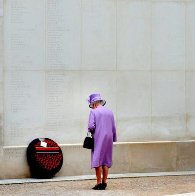 File photo dated 20/07/11 of Queen Elizabeth II during a visit to the National Memorial Arboretum, Staffordshire, where she laid a wreath next to the wall of the Armed Forces Memorial as she turns 90 on the April 21st. PRESS ASSOCIATION Photo. Issue date: Sunday April 3, 2016. See PA story ROYAL Birthday. Photo credit should read: Rui Vieira/PA Wire