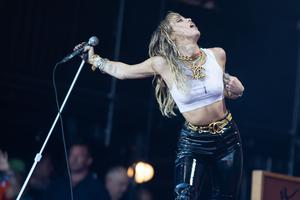 Miley Cyrus was announced as a performer (Aaron Chown/PA)