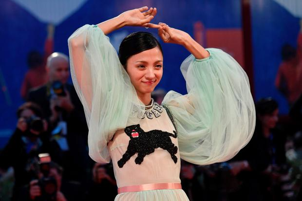 "Actress Hikari Mitsushima arrives at the premiere of the movie ""The Bad Batch"" presented in competition at the 73rd Venice Film Festival on September 6, 2016 at Venice Lido. / AFP PHOTO / TIZIANA FABITIZIANA FABI/AFP/Getty Images"