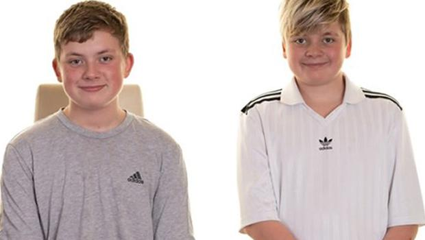 Tristan and Blake Barrass (South Yorkshire Police/PA)