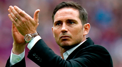 Wanted man: Frank Lampard is the favourite to take up Chelsea reins
