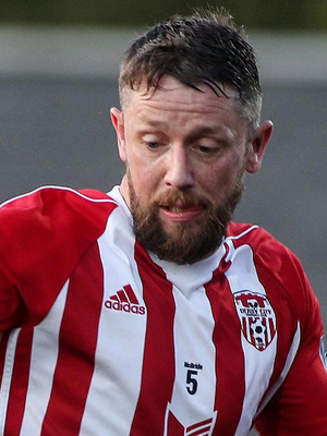First blood: Rory Patterson got Derry off the mark in Limerick