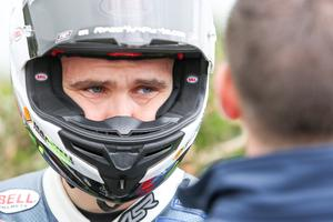 A broken bone has ended William Dunlop's Ulster Grand Prix.