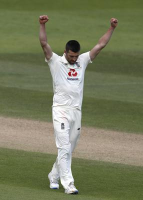 Mark Wood wrapped up the West Indies innings by dismissing Shannon Gabriel (Adrian Dennis/NMC Pool/PA).
