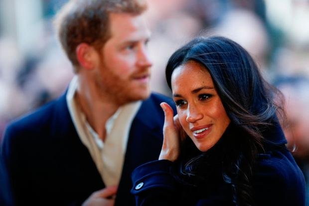 Prince Harry and Meghan Markle meet well-wishers as they arrive at the Nottingham Contemporary in Nottingham, to attend a Terrence Higgins Trust World AIDS Day charity fair on their first official engagement together. PRESS ASSOCIATION Photo. Picture date: Friday December 1, 2017. See PA story ROYAL Wedding. Photo credit should read: Adrian Dennis/PA Wire