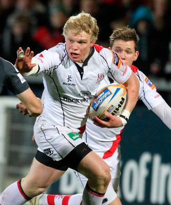 Huge talent: Nevin Spence impressed all at Ulster before his life was cut short