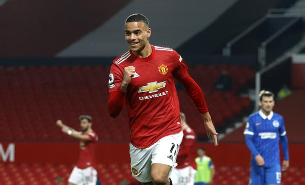 Mason Greenwood turned the game on its head (Phil Noble/PA)