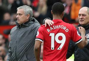 Marcus Rashford says Jose Mourinho told him to be 'savvy' to win penalties, but Klopp has denied telling his players to do the same (Martin Rickett/PA)