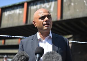 Dame Judith Hackitt, who will lead the probe, will report to Communities Secretary Sajid Javid (pictured) and Home Secretary Amber Rudd (Victoria Jones/PA)