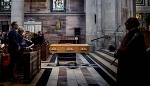 The funeral of Journalist Lyra McKee takes place at St Anne's Cathedral in Belfast on April 24th 2019 (Photo by Kevin Scott for Belfast Telegraph)