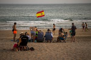 Travellers returning from Spain and its islands will now have to quarantine for a fortnight after ministers changed Covid-related travel rules (Emilio Morenatti/AP)