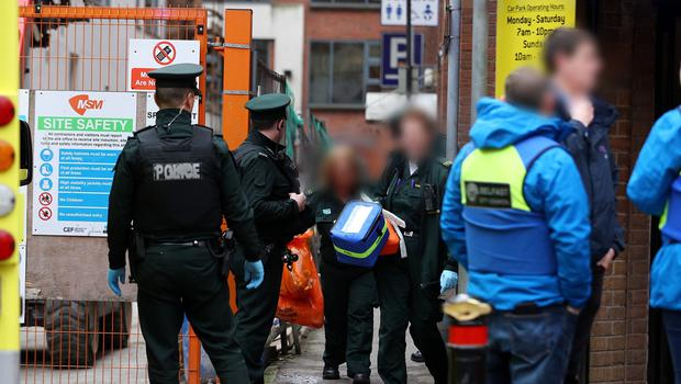 A man has been found dead in a public toilet in Belfast city centre. Photo by Kevin Scott