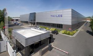 The Thales factory site in Belfast. (Thales/PA)