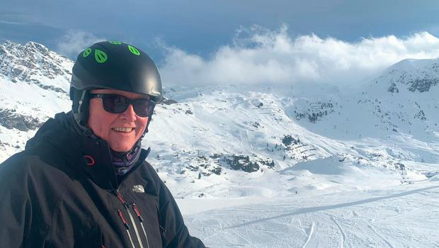 Jim Gallagher in the Austrian resort of Obertauern