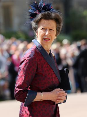 The Princess Royal in a striking outfit (Gareth Fuller/PA)