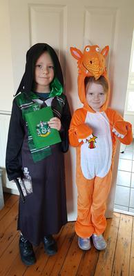 Max and Fifi Jackson aged 9 and 7 from Bangor, Co Down