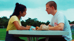 Growing pains: Taylor Russell and Lucas Hedges in Waves