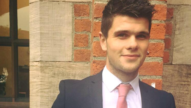 Kevin King (22) died suddenly while playing indoor football.