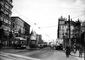 Donegall Square North. Belfast  23/1/1946 BELFAST TELEGRAPH COLLECTION/NMNI