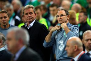 DUBLIN, IRELAND - OCTOBER 08:  Head Coach Martin O'Neill of Republic of Ireland looks on during the UEFA EURO 2016 Qualifier group D match between Republic of Ireland and Germany at the Aviva Stadium on October 8, 2015 in Dublin, Ireland.  (Photo by Ian Walton/Getty Images)