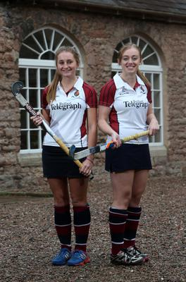 Hockey Captain - Pippa Best & Vice Captain - Kate McCall  ?Presseye,Northern Ireland - 2014  Tuesday 7th October   Mandatory Credit - Picture by Brian Thompson/Presseye