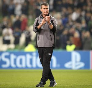 Going for it: Stephen Kenny will throw caution to the wind in Poland