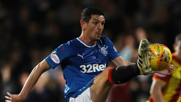 Full stretch: Gers ace Graham Dorrans says Steven Gerrard was one of the best players he ever faced in the Premier League