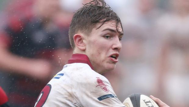 Scrum-half Charlie Worth was one of a number of impressive performers for Armagh