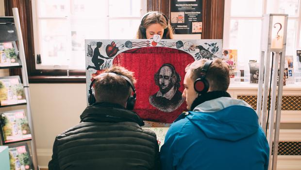 Micro-Shakespeare at Belfast City Hall - part of the 2016 Ulster Bank Belfast International Arts Festival