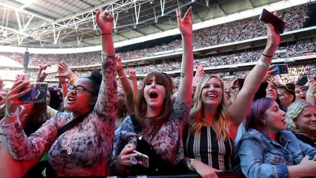 Most amplified concerts can exceed 100 decibels (PA)